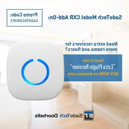 Model C Wireless Doorbell Operating at over 500-feet Range w