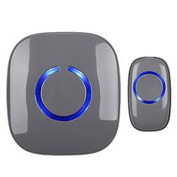 SadoTech Model C Wireless Doorbell Operating at over 500-fee