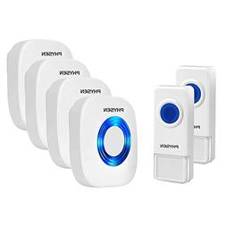 Physen Model CW Waterproof Wireless Doorbell kit with 2 Push