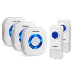 Physen Model CW Waterproof Wireless Doorbell kit with 2 Push