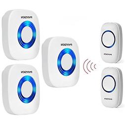 Physen Model CW Waterproof Wireless Doorbell kit with 2 Butt