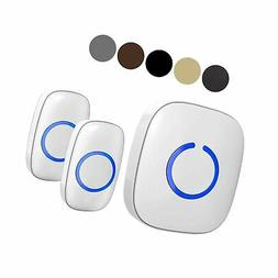 SadoTech Model CX Wireless Doorbell with 1 Receiver Plugin a