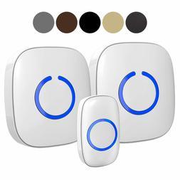 SadoTech Model CXR Wireless Doorbell, 2 Plugin Receivers wit