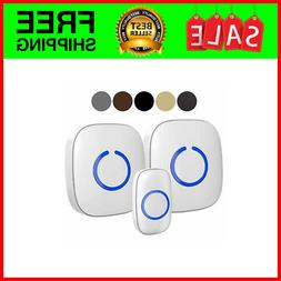 SadoTech Model CXR Wireless Doorbell with 1 Remote Button an
