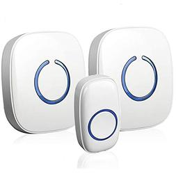 SadoTech Model CXRi Portable Wireless Door Bell Kit, Over 50