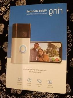 Ring Motion-Activated HD Video Doorbell 2nd Generation two w