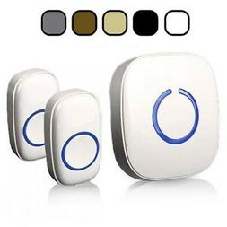 NEW SadoTech Model CX Wireless Doorbell LOUD w/ 2 Buttons, 1