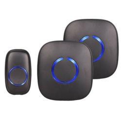 NEW SadoTech Model CXR Wireless Doorbell LOUD w/ 1 Button, 2