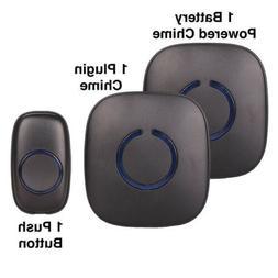 NEW SadoTech Model CXRi Wireless Doorbell, 1 Button 1 Plugin