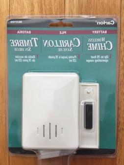 NEW - Carlon RC3105 White Wireless Door Bell Chime