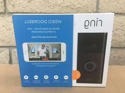 NEW SEALED Ring Wi-Fi Motion Alert Smart HD Video Smart Door