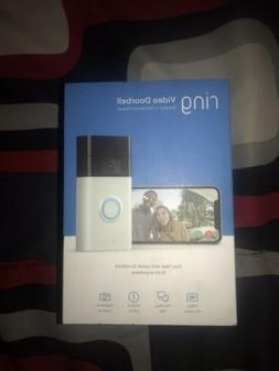 ! NEW! Ring Video Doorbell Wi-Fi Enabled HD Camera Amazon Al