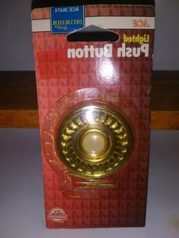NEW Wired Home Doorbell Door-Bell Lighted Push-Button ace ol