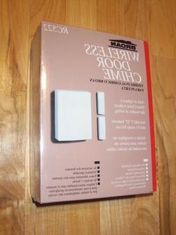 NEW! Broan Wireless Door Chime Doorbell kit RC522 adjustable
