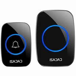 Heath Zenith SL-7797-02 Wireless Door Push Button White