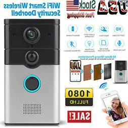 New Wireless WiFi Doorbell Smart Phone Door Ring Intercom Se