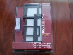 New Heath Zenith Wireless Door Chime Doorbell with Black Col