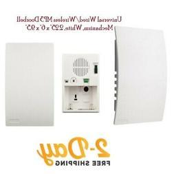 BROAN-NUTONE LA600WH WHITE MP3 CUSTOMIZABLE WIRED/WIRELESS C