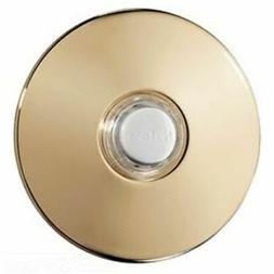 NuTone PB41LBGL Wired Lighted Round Stucco Door Chime Push B