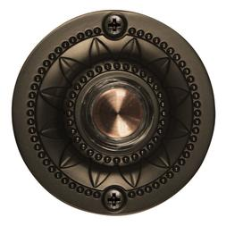 oil rubbed bronze led doorbell lighted button