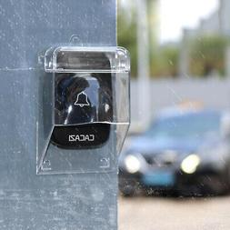 Plastic Transparent Protective Cover Doorbell for Wireless D
