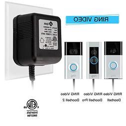 Power Adapter, Video Doorbell Power Supply 18 VAC Power Tran