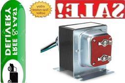 pro 24v 40va doorbell transformer compatible