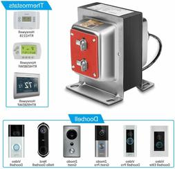 Pro 24V 40VA Doorbell Transformer Compatible with Ring, Nest