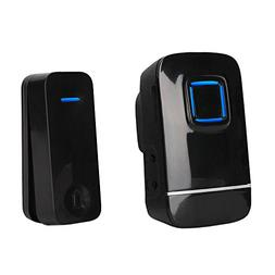 PushPoint Eco2 Expandable Wireless Doorbell with Battery Fre