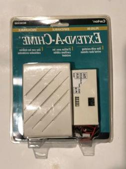 Carlon RC3030D Extend-A-Chime Plug-In Door Bell Extender wit