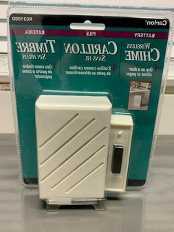 Carlon RC3190D Wireless Door Chime w/150' Range & Plays 8