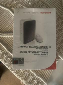 Honeywell RDWL313A White/Gray Wireless Portable Doorbell Wit