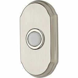 """BALDWIN RESERVE POLISHED CHROME 3"""" ARCH LIGHTED PUSH BUTTON"""
