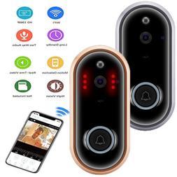 Ring Doorbell HD Wi-Fi Video Doorbell Smart Doorbell Satin N