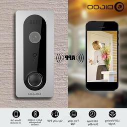 Ring DoorBell with Camera Smart Home Night Visual Video Secu