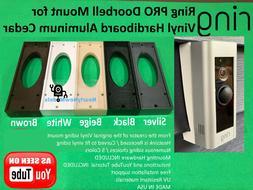 Ring Pro Doorbell Mount for Angle Vinyl Hardiboard Metal Sid