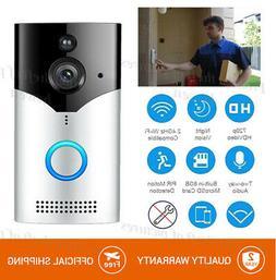 Ring Video Doorbell Wi-Fi Enabled HD Camera Amazon Alexa Sat