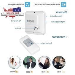Ring Wireless Doorbell 1000 ft Long Range Door Chime Kit Wat
