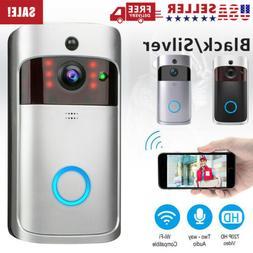 Security Smart Camera Two-Way Bell WiFi Wireless Video Door