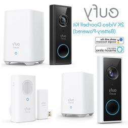 eufy Security Wireless Video Doorbell Kit 2K HD Camera Smart