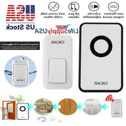 CACAZI Self-generating Home Security Wireless Smart Waterpro