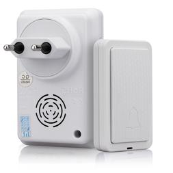 Self-Powered Wireless Doorbell Kit No Battery Required, For