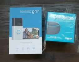 Silver Ring Motion-Activated HD Video Doorbell 2nd Gen 1080p