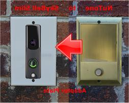SkyBell Slim Doorbell adapter plate for Nutone and M&S inter
