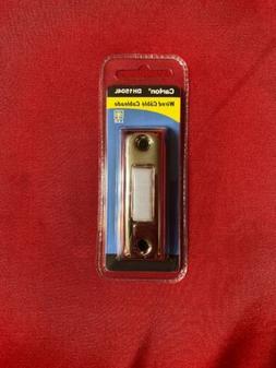 Carlon Slvr Lighted Push-Button