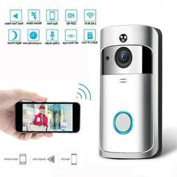 Smart Door Bell Camera WiFi Video Intercom Wireless Doorbell