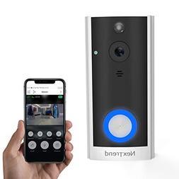 Smart Doorbell, NexTrend HD Doorbell Camera Battery Operated