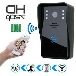 Smart Home Wireless Doorbell WiFi Video Camera Door Phone In