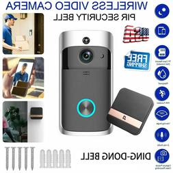 Wireless WiFi Smart Phone Door Ring Video Doorbell Intercom