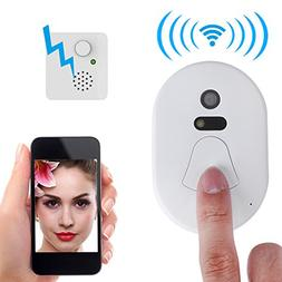 Smart 2.4G RF Wireless Ring Doorbell WiFi Visual Camera Phon